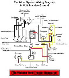 12 volt 8n tractor wiring diagram wiring diagram schematic