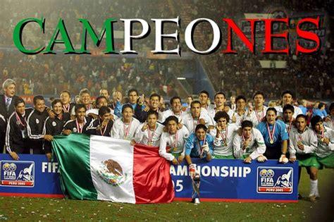 imagenes de la sub 17 ajedrez y cultura 161 mexico sub 17 bicampeones de futbol