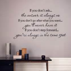 Removable Wall Stickers Quotes Inspirational Quotes Wall Stickers Removable Decal Home