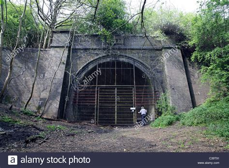 lincoln tunnel closed today the south portal of the closed charwelton tunnel on the