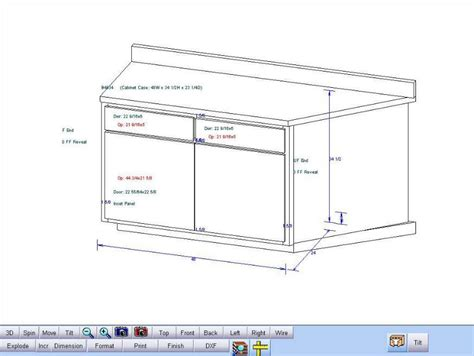 kitchen cabinet drawing software blog archives backupdays