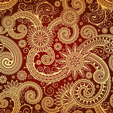 indian pattern background india ham pattern vector free vector 4vector