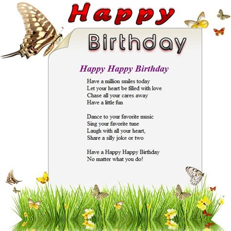 birthday wishes templates happy birthday free html e mail templates