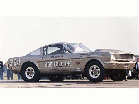 bob ford 1964 bob ford len richter thunderbolt in 1967 the ford