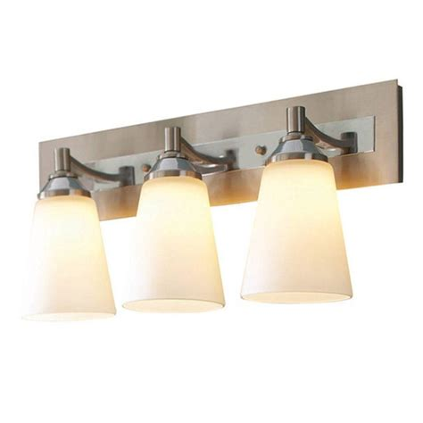bel air lighting 3 light brushed nickel and polished