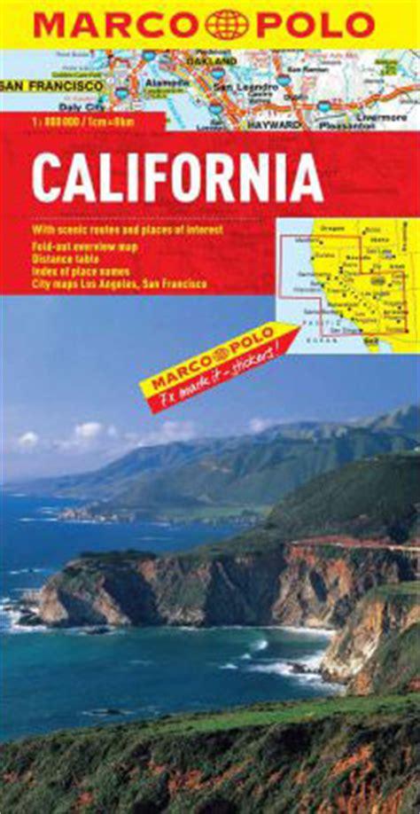 california map book california map marco polo maps books travel guides