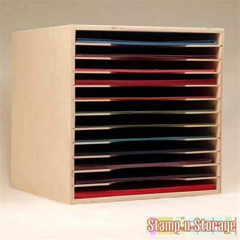 Paper Craft Storage - ikea expedit paper holder storage 8 5x11 12x12 craft