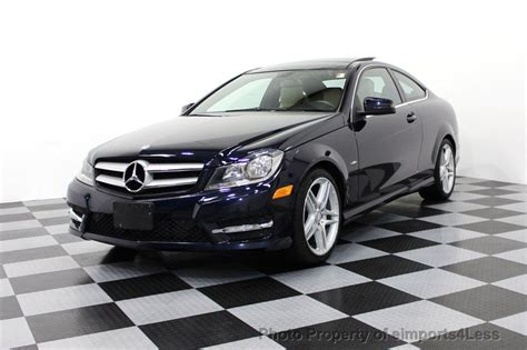 mercedes c250 sport 2012 2012 used mercedes c250 coupe amg sport navigation at