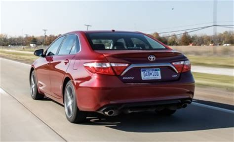 toyota camry xse 2015 price 2015 toyota camry xse v 6 test review car and driver
