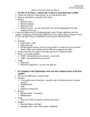 section 8 massachusetts rules end of sectin review questions study group version 1