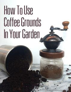 Are Coffee Grounds For Your Garden by 1000 Images About Balcony Gardening On