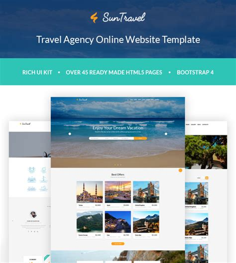 bootstrap themes travel free travel agency website templates bootstrap lifehacked1st com