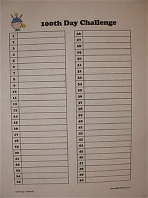 100th day of school challenge write 100 words freebie writing activity 121 best images about 100th day activities on media center activities and writing