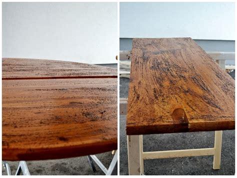 Holz Altern Kaffee by Holz Alt Aussehen Lassen Kaffee Wohn Design