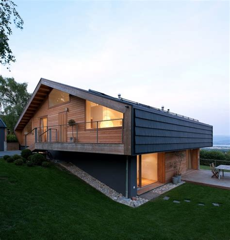 modern minimalist swiss chalet most beautiful houses in