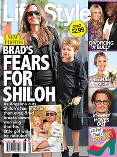 Brad To Angie Why Dont You Shiloh Lifestyle Magazine by Brad Pitt Transgender Their 8 Year