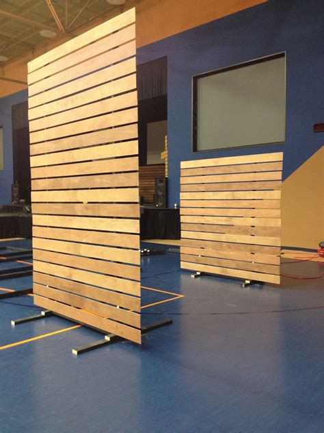how to build a room divider screen create a moveable partition wall on rollers for functional