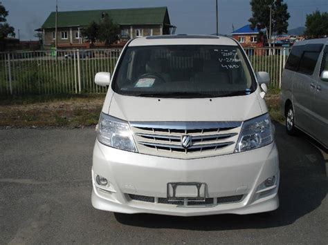 2005 Toyota Alphard 2005 Toyota Alphard Pictures 2 5l Gasoline Automatic