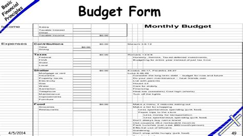 Free Printable Monthly Budget Worksheets Template Business Church Budget Template