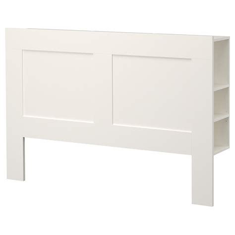 kopfteil bett brimnes headboard with storage compartment white standard
