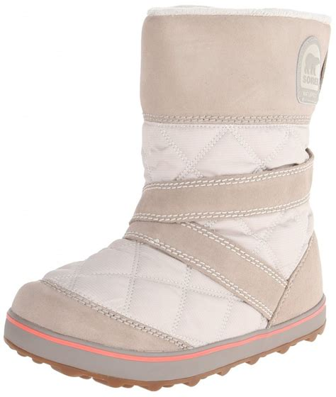 slip on snow boots for sorel glacy slip on snow boot top heels deals