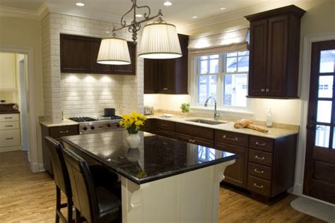 small kitchen with dark cabinets oil rubbed bronze hardware on darker cabinets