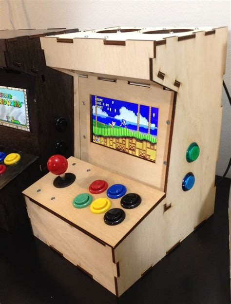raspberry pi arcade cabinet kit porta pi arcade a diy mini arcade cabinet for raspberry