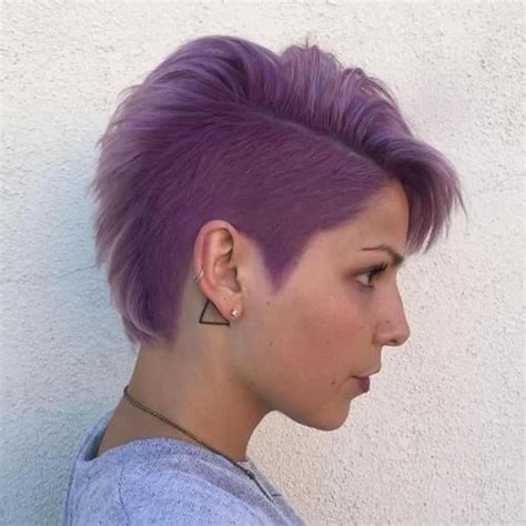 stylish images  ladies shaved hairstyles  sheideas