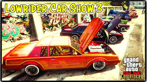 Auto Tuning Xbox One by Gta 5 Online Quot Lowrider Quot Car Show 3 Gta V Xbox One