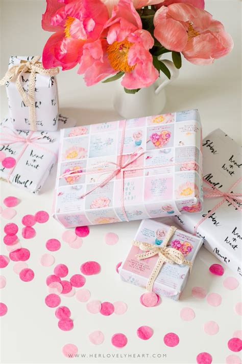 Make Own Wrapping Paper - make your own diy wrapping paper lovely