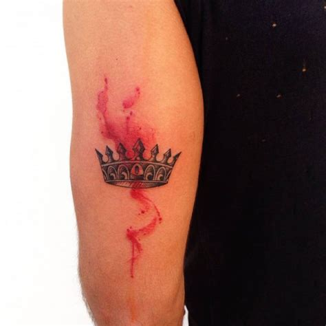 red crown tattoo collection of 25 crown design