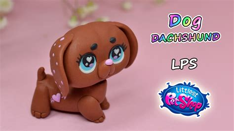dachshund littlest pet shop lps polymer