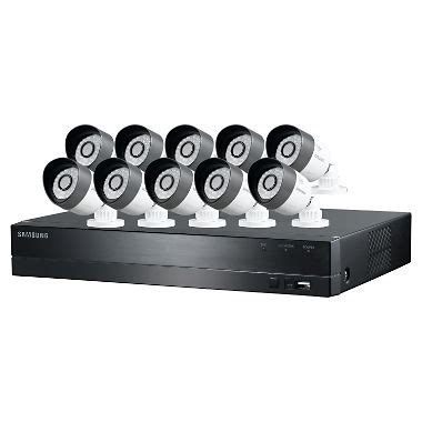 samsung 16 channel hd security system with 2tb hard drive
