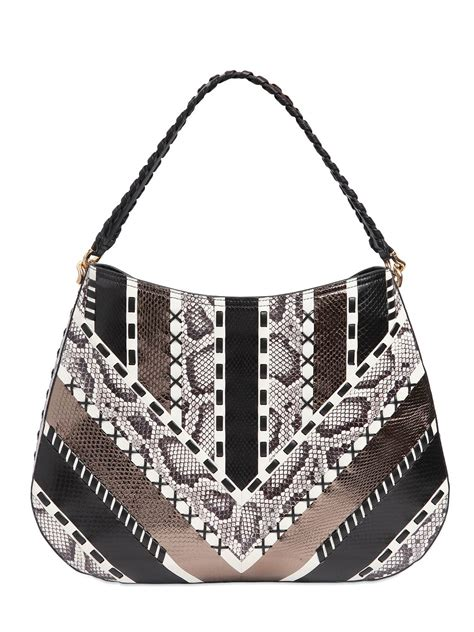 Be Inspired By Free Peoples Patchwork Laptop Bag by Lyst Roberto Cavalli Ayers Patchwork On Nappa Leather Bag