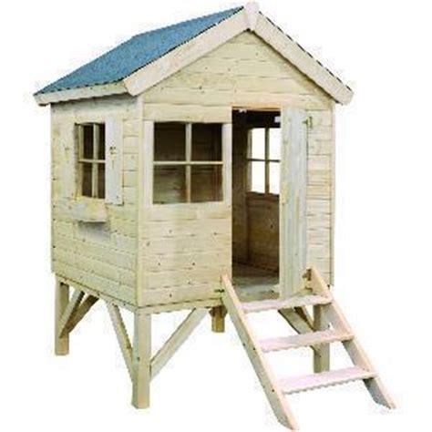 cabane de jardin pour enfant pas cher liste 2013 jolies cabanes en bois enfant sur pilotis maisonnette de jardin toboggan test et