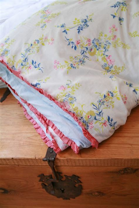 Cover For Comforter Is Called by Diy Duvet Cover Comforter Cover From Two Flat Sheets