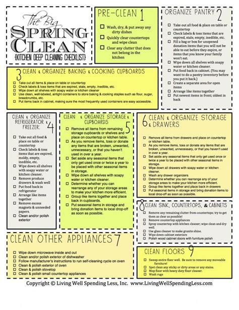 deep cleaning house checklist best 25 deep cleaning checklist ideas on pinterest deep