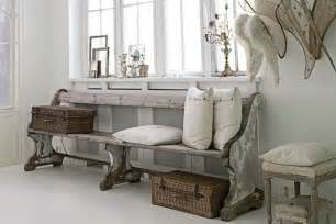 Chic Home Interiors Blanco Roto Shabby Chic Vintage Entry