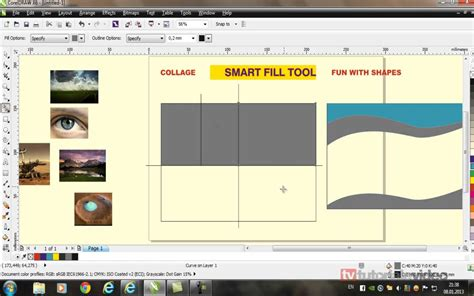 corel draw x6 gratuit despre unealta smart fill tool din corel draw x6