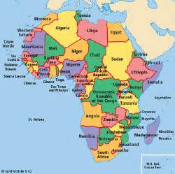 Countries In Africa Map by Fracafrica Africa The Legacy Of Imperialism
