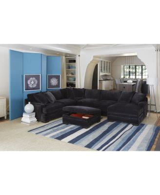 teddy fabric sectional living room from macys misc home teddy fabric sectional living room furniture collection