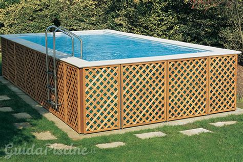 piscine smontabili da giardino piscine fuoriterra fisse vs piscine smontabili