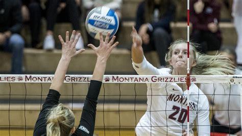 mykaela hammer volleyball university  montana athletics