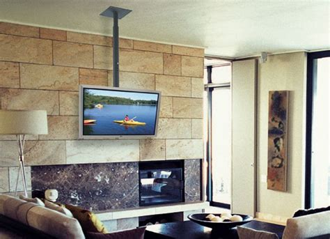 Tv Hanging From Ceiling by 1000 Ideas About Tv Ceiling Mount On Tv