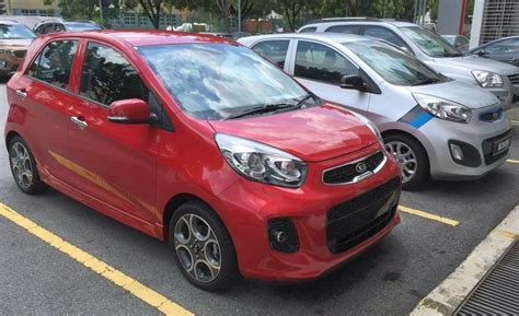 Kia Picanto Facelift Kia Picanto Facelift Makes A Debut In Malaysia