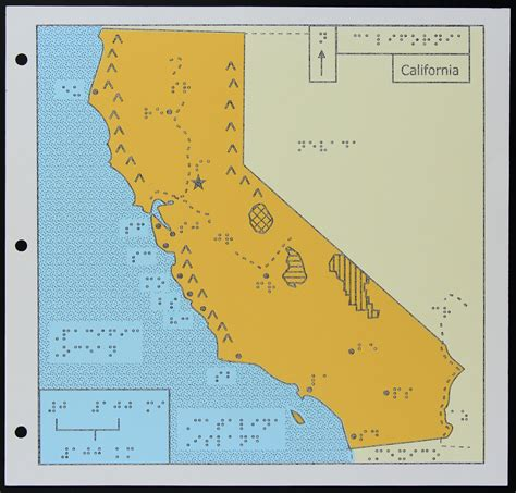 map of california a map of california for the blind kcet