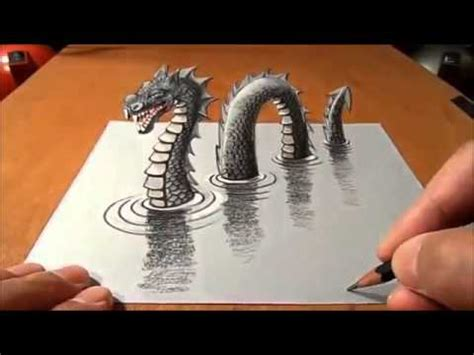 3 Drawing Techniques by 3 Dimensional Drawing Technique