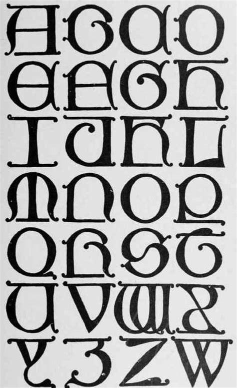 lettere romane classic letters continued