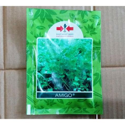 Benih Bibit Daun Bawang Fragrant jual benih seledri panah merah amigo 4 000 butir