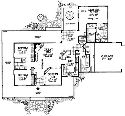 Corner Lot Floor Plans House Plans With Photos Images